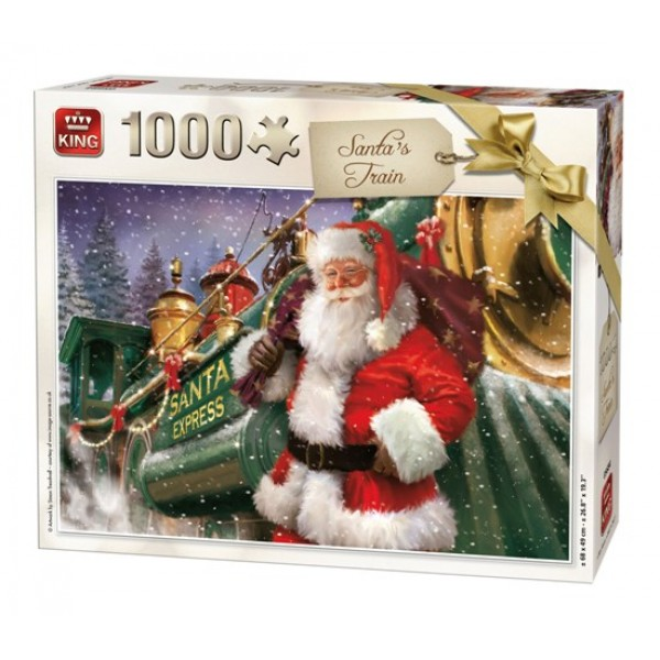 SANTA TRAIN Christmas Collection 1000 pcs