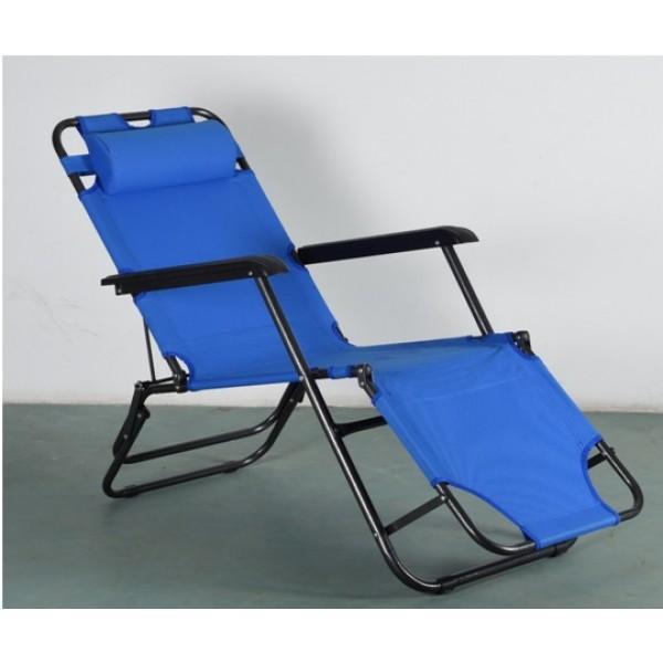 Μεταλλική καρέκλα-ξαπλώστρα 3 θέσεων ΚΑΡΕΚΛΕΣ ΠΑΡΑΛΙΑΣ