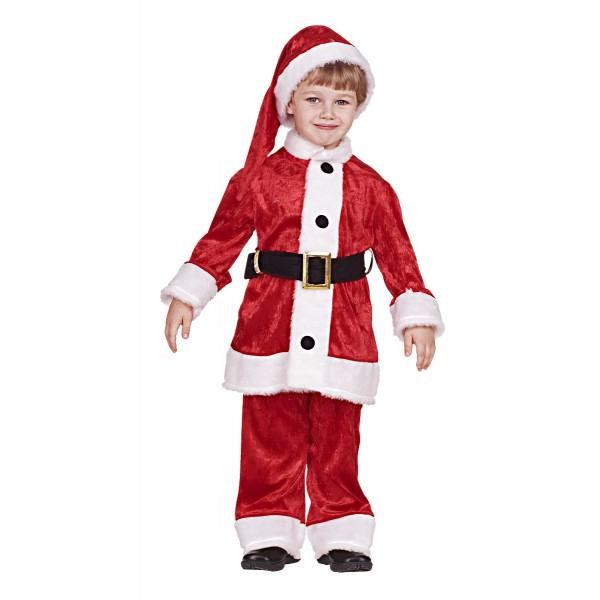 Στολή Άγιος Βασίλης αγόρι N 7750 ΣΤΟΛΕΣ ΧΡΙΣΤΟΥΓΕΝΝΙΑΤΙΚΕΣ ΠΑΙΔΙΚΕΣ
