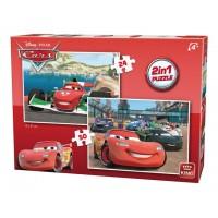 Disney 2in1 Puzzles 24,50 pcs