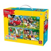 Disney 4in1 Puzzles 12,16,20,24 pcs