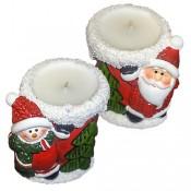 Κηροπήγια Χριστουγεννιάτικα