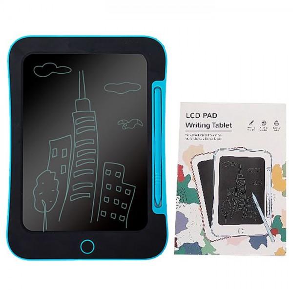 "TABLET 8.5"" LCD ΠΙΝΑΚΑΚΙ ΜΠΑΤΑΡΙΑΣ ΜΠΛΕ 16x23cm Δημιουργικά & Εκπαιδευτικά Παιχνίδια"