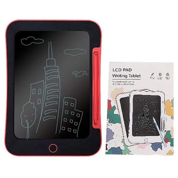 "TABLET 8.5"" LCD ΠΙΝΑΚΑΚΙ ΜΠΑΤΑΡΙΑΣ ΚΟΚΚΙΝΟ 16x23cm Δημιουργικά & Εκπαιδευτικά Παιχνίδια"