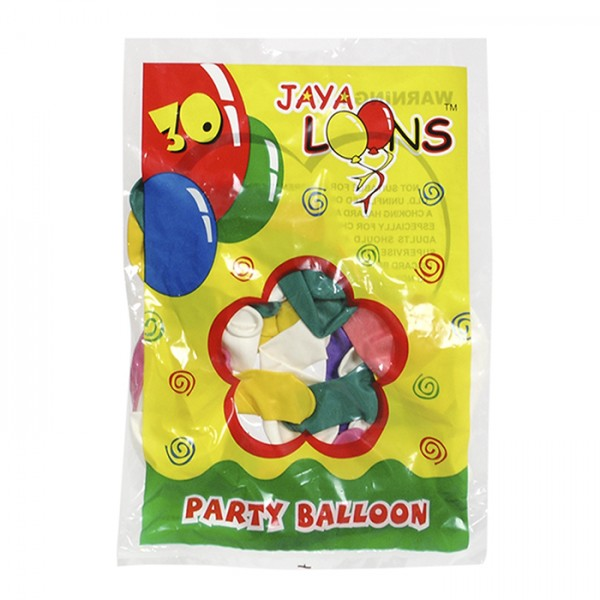 """ΣΕΤ 30 ΜΠΑΛΟΝΙΑ 7"""" 18cm Μπαλόνια"""