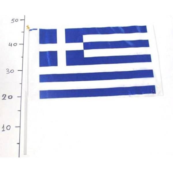 ΣΗΜΑΙΑΚΙ ΠΛΑΣΤΙΚΟ ΜΕΓΑΛΟ ( 40χ25εκ) Ν3 Σημαίες Ελληνικές