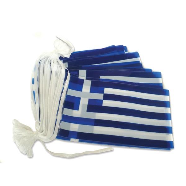 ΓΙΡΛΑΝΤΑ ΕΛΛΗΝΙΚΗ ΣΗΜΑΙΑ 10μ Σημαίες Ελληνικές