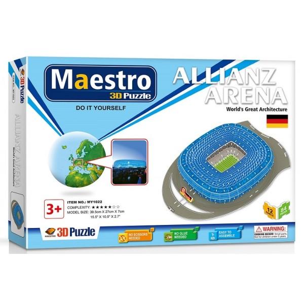 3D ΠΑΖΛ Allianz Arena 84ΤΜΧ MY1022 Πάζλ