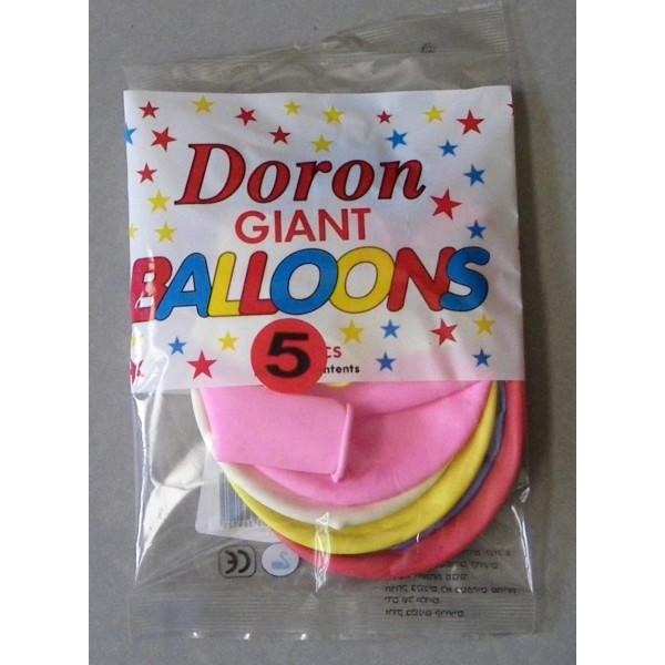 ΜΠΑΛΟΝΙΑ ΓΙΓΑΣ 45εκ Νο1 (5 τεμ) Μπαλόνια