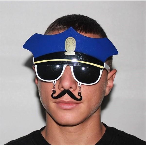 ΑΠΟΚΡΙΑΤΙΚΑ ΓΥΑΛΙΑ ΑΣΤΥΝΟΜΟΥ Ν 050147 Αποκριάτικα Αξεσουάρ Αστυνομικού