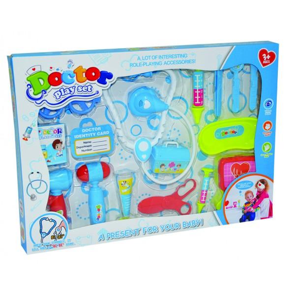 Σετ εργαλεία γιατρού σε κουτί 40x30εκ. Ν 053-1 Σετ Γιατρού