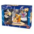 PUZZLE 99 pcs ARISTOCATS & LADY AND THE TRAMP Disney Puzzles 99 pcs