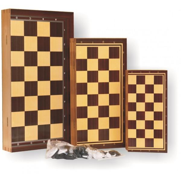 ΤΑΒΛΙ-ΣΚΑΚΙ ΞΥΛΙΝΟ  50x50cm Τάβλι - Σκάκι