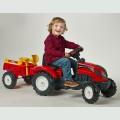 Παιδικό Τρακτέρ Farm 2051C+Trailer Falk ΤΡΑΚΤΕΡ ΜΕ ΠΕΤΑΛΙΑ