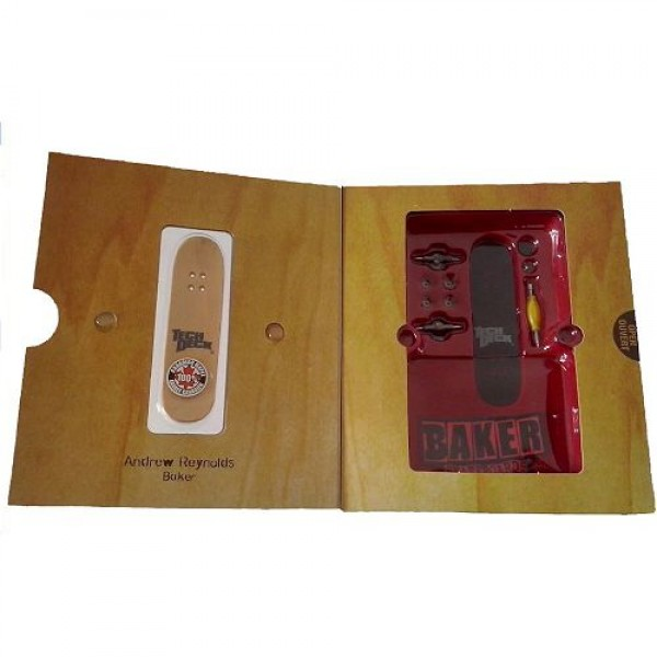 Μινιατούρα τροχοσανίδα ξύλινη συλλεκτική TECH DECK fingerboards