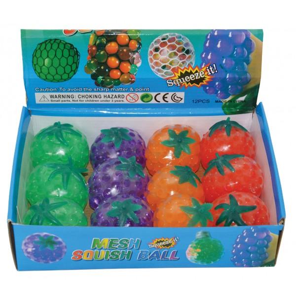 Ζουληχτά φρούτα 6εκ N 336 Χλαπάτσες και Squishy