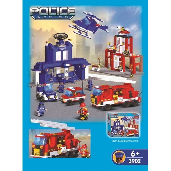 ΚΑΤΑΣΚΕΥΑΣΤΙΚΑ ΤΟΥΒΛΑΚΙΑ ΤΥΠΟΥ LEGO Ν 3902 ΚΑΤΑΣΚΕΥΕΣ (Τυπου Lego)