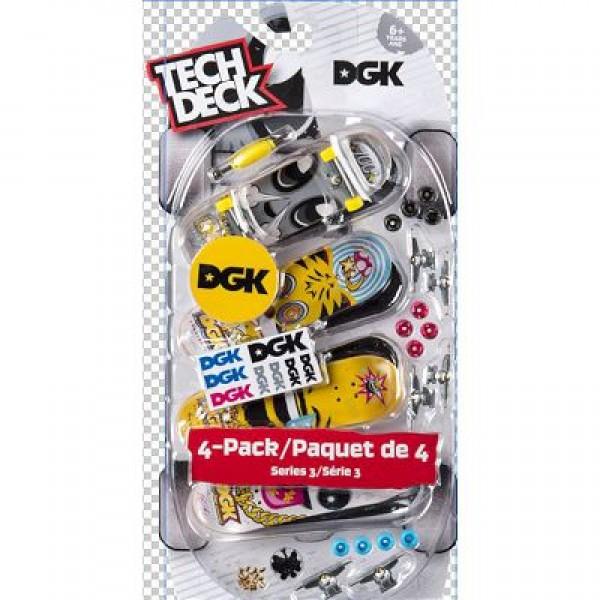 Σειρά μινιατούρες 4τεμαχίων TECH DECK fingerboards