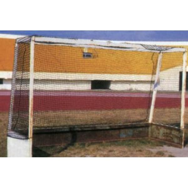 Δίχτυ Για Τέρμα Ποδοσφαίρου ( Ζευγάρι ) 2χιλ., στριφτό, πορτοκαλί Δίχτυα για όλα τα αθλήματα