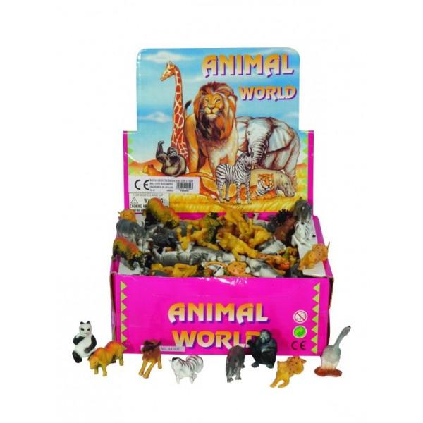 Σετ συλλογή άγρια ζώα 5εκ Ν 0049 Ζωάκια
