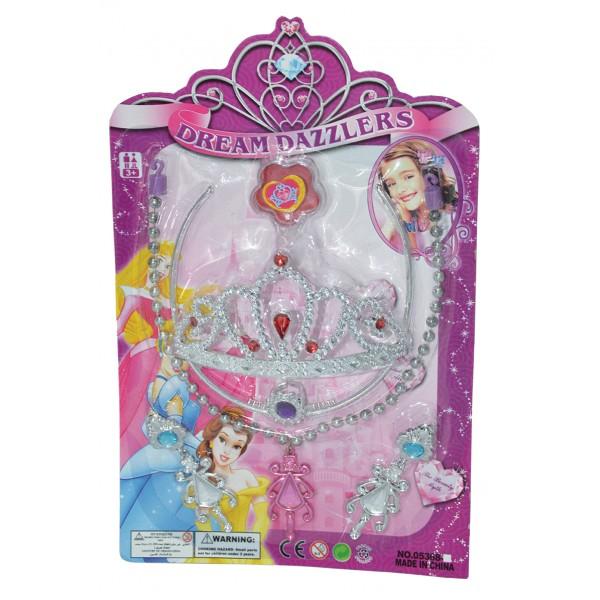 Σετ πριγκήπισσας 18x28εκ. N 05368-K Κοσμήματα Παιδικά
