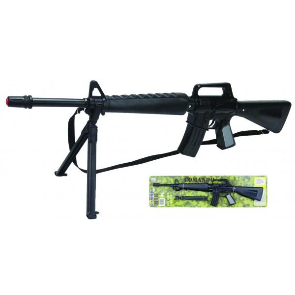 Πολυβόλο Μ16 Μεταλλικό 8σφαιρο GONHER Ν 1118/6 Πιστόλια - Καραμπίνες - Όπλα