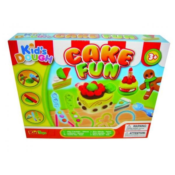 """Σετ κατασκευών με πλαστελίνες """"κέϊκ"""" N 11710 Δημιουργικά & Εκπαιδευτικά Παιχνίδια"""