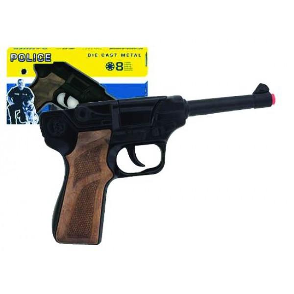 Πιστόλι μεταλικό 8σφαιρο GONHER Ν 124/6 Πιστόλια - Καραμπίνες - Όπλα