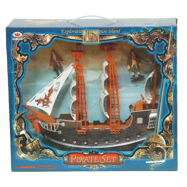 Πειρατικό καράβι με πειρατές 36x41εκ. Ν 12609 Πειρατικά Σετ