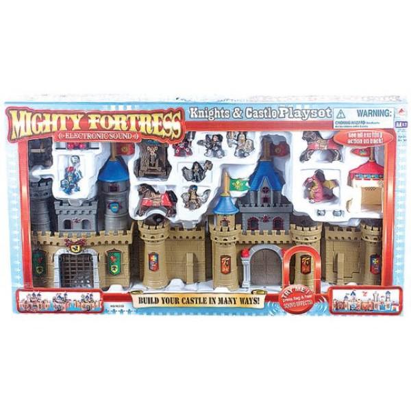 Κάστρο με Πολεμιστές Μεγάλο 85x10x45εκ. Ν 16333 Κάστρα Ιπποτών