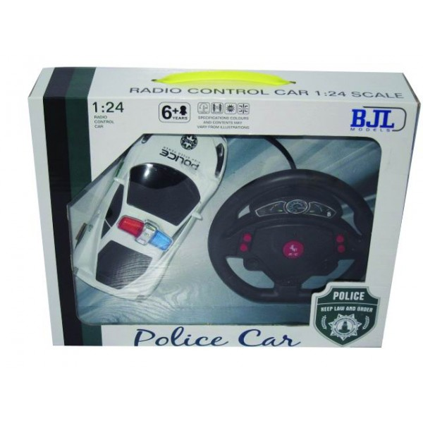 Τηλεκατευθυνόμενο Αστυνομικό αυτοκίνητο 4κάναλο 31x12x24εκ.Ν 2202-B Τηλεκατευθυνόμενα