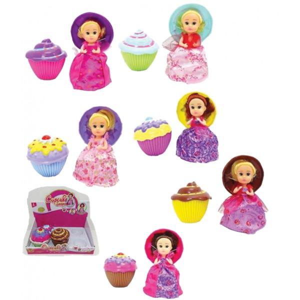 Κουκλίτσες με κέικ έκπληξη 10εκ. Ν 2349 Μικροπαιχνιδάκια
