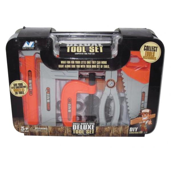 Βαλιτσάκι με εργαλεία 30x22εκ.Ν 520-8Α Παιδικά Εργαλεία Μαστορέματος