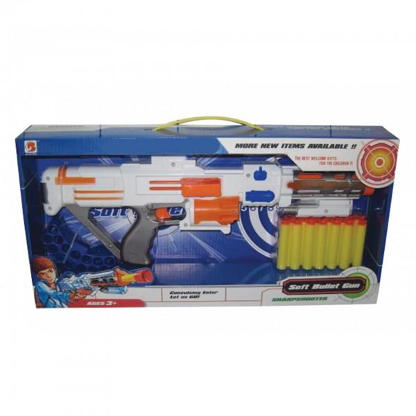 Όπλο με βελάκια αφρολέξ 46x23εκ. Ν 557 Πιστόλια - Καραμπίνες - Όπλα