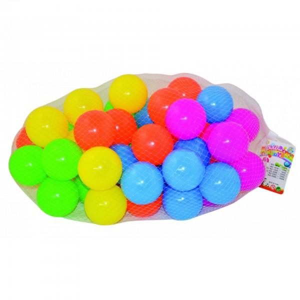 Μπαλάκια Πλαστικά 7εκ.Σε Διχτάκι 50τεμ Ν 5580 Μπαλάκια