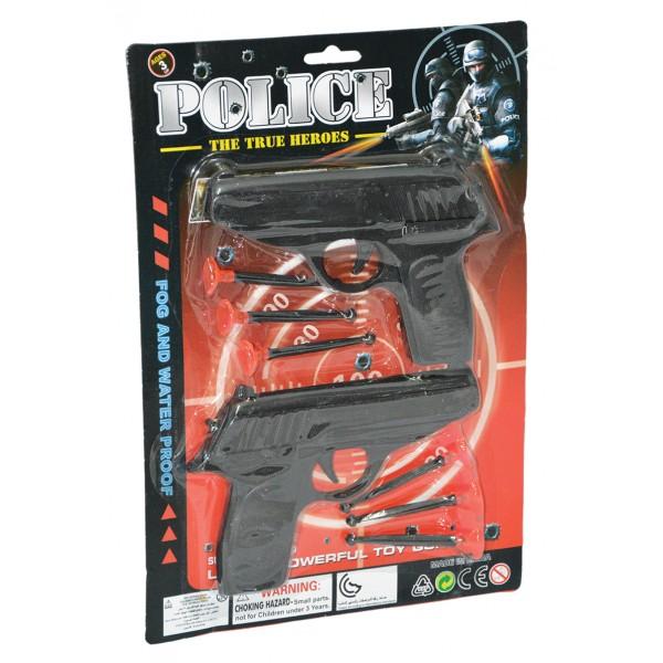 Σετ 2 όπλα με βελάκια 22x31εκ. Ν 5800-58-Α Πιστόλια - Καραμπίνες - Όπλα