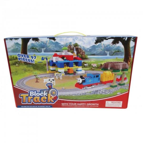 Τρένο μπαταρίας παιδικό 47x29εκ. Ν 599-3Α Τραινάκια