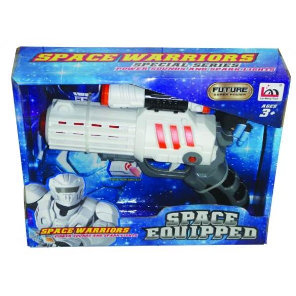 Διαστημικό όπλο μπαταρίας 22x18εκ. Ν 666-1 Πιστόλια - Καραμπίνες - Όπλα