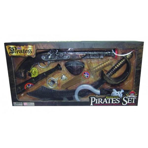 Αξεσουάρ για Πειρατή σε κουτί 52x26εκ. Ν 8897 Α-96 Αποκριάτικα Αξεσουάρ Πειρατή