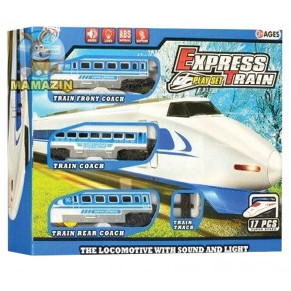 Τρένο μπαταρίας express 50x35εκ. N 9905 Τραινάκια