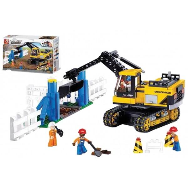 ΚΑΤΑΣΚΕΥΑΣΤΙΚΑ ΠΑΙΧΝΙΔΙΑ (Τυπου Lego) 614τεμ. Ν B-0551-NN ΚΑΤΑΣΚΕΥΕΣ (Τυπου Lego)