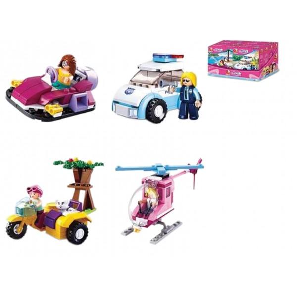 ΚΑΤΑΣΚΕΥΑΣΤΙΚΑ ΠΑΙΧΝΙΔΙΑ (Τυπου Lego) 8τεμ Ν B-0600 ΚΑΤΑΣΚΕΥΕΣ (Τυπου Lego)