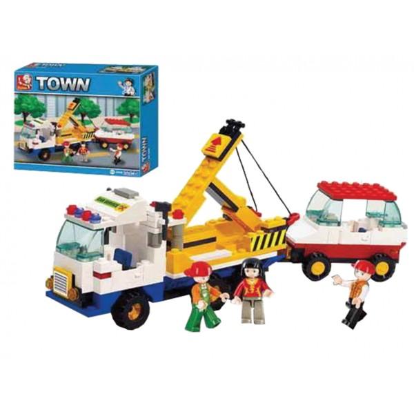ΚΑΤΑΣΚΕΥΑΣΤΙΚΑ ΠΑΙΧΝΙΔΙΑ (Τυπου Lego) 222τεμ Ν B-2800 ΚΑΤΑΣΚΕΥΕΣ (Τυπου Lego)