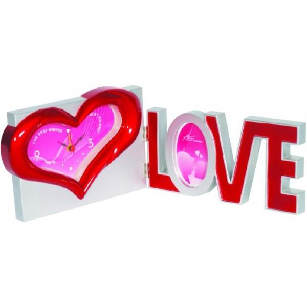 Κάδρο-ρολόϊ I love you 28x11εκ. Ν MS642 ΕΙΔΗ ΒΑΛΕΝΤΙΝΟΥ