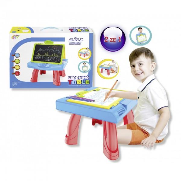 ΠΙΝΑΚΑΣ ΘΡΑΝΙΟ 2 ΣΕ 1 Ν 5545 Δημιουργικά & Εκπαιδευτικά Παιχνίδια