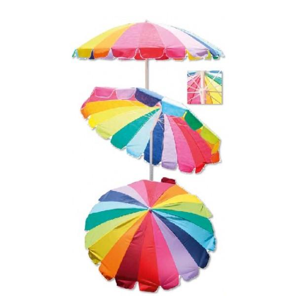 Ομπρέλα θαλάσσης viscoze Rainbow ΟΜΠΡΕΛΕΣ ΘΑΛΑΣΣΗΣ