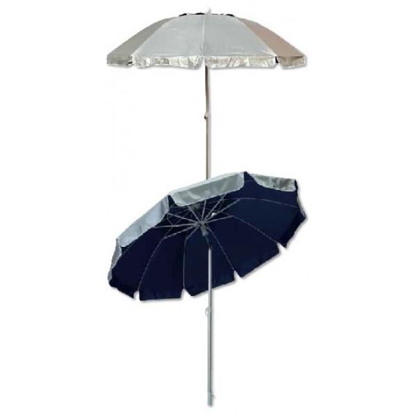 Ομπρέλα θαλάσσης αλουμινίου με ηλιοπροστασία ΟΜΠΡΕΛΕΣ ΘΑΛΑΣΣΗΣ